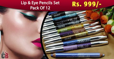 Eyeliner Davis Eye pack of 12 davis eye color eyeliner lipliner