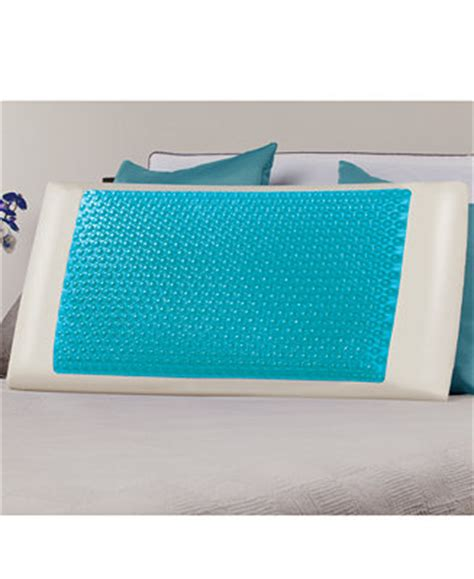 memory foam hydraluxe cooling bed pillow comfort revolution cool comfort hydraluxe gel memory