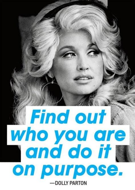 Find Out Who Are Find Out Who You Are And Do It On Purpose Picture Quotes