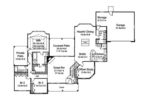 25 Best Ranch House Plans With Mudroom Architecture Ranch House Plans With Mudroom