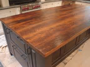 i must have this fabulous wood plank countertop stunning