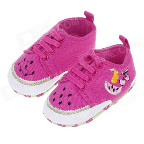 fruit 9 month baby sweet fruit pattern baby shoes multicolored 6 9 months