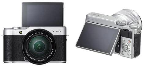 Kamera Fujifilm Xa10 jual deals fujifilm x a10 kit 16 50 f 3 5 5 6 ois ii kamera mirrorless silver