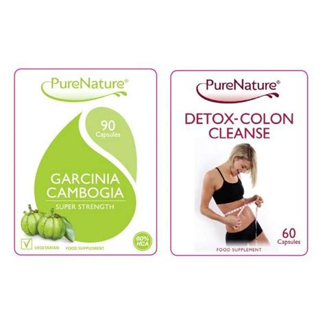 Garcinia Cambogia And Detox Dr Oz by Garcinia Cambogia And Detox Colon Cleanse Combo Be
