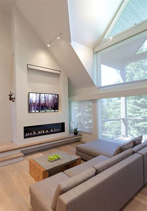 linear fireplace with tv above linear fireplace with tile surround and tv above spark