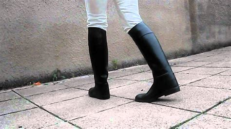 aigle black rubber boots mp4