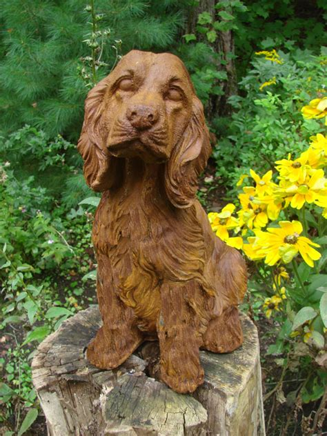 golden retriever garden golden retriever statue mondus distinction garden decor