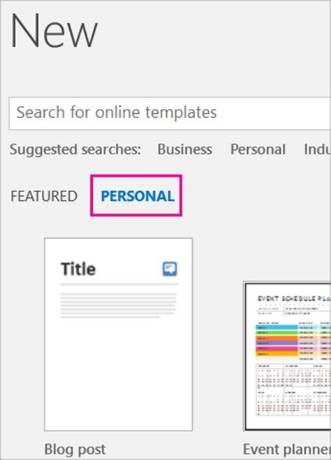 Where Are My Custom Templates Office Support Custom Office Templates Folder 2016
