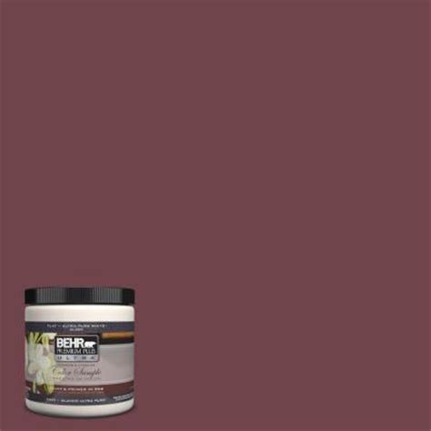 behr premium plus ultra 8 oz ul100 3 formal maroon interior exterior paint sle ul100 3