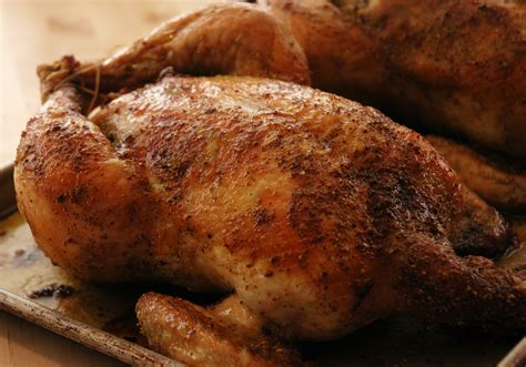 Food Oven Baked oven roasted chicken a pinch of this and a pound of