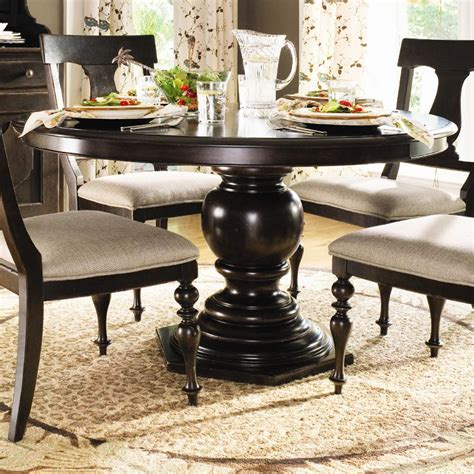 paula deen dining room furniture paula deen by universal home 932655 round pedestal table