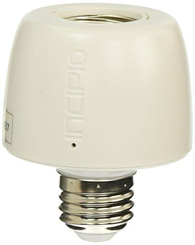 incipio commandkit wireless smart light bulb adapter with