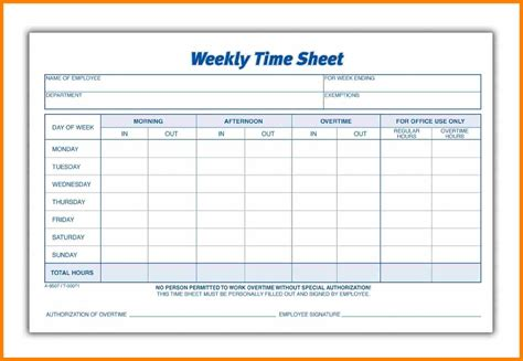 9 Weekly Payroll Sheets Pay Stub Format Adp Timesheet Template