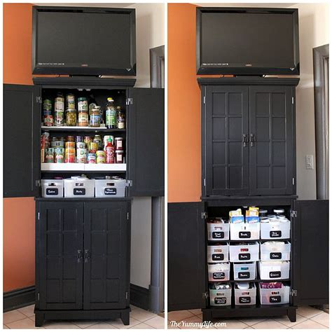 diy kitchen pantry cabinet instant diy pantry cabinet get organized with this easy