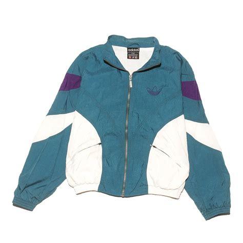 adidas tri color jacket medium