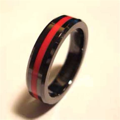 Wedding Rings For Firefighters by Fireman S Wedding Band Wedding