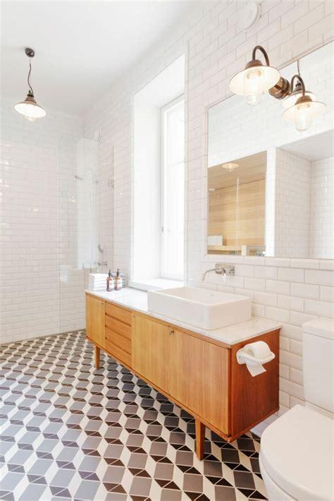 Interieur Salle De Bain by Salle De Bain D 233 Co Scandinave En Blanc Et Bois