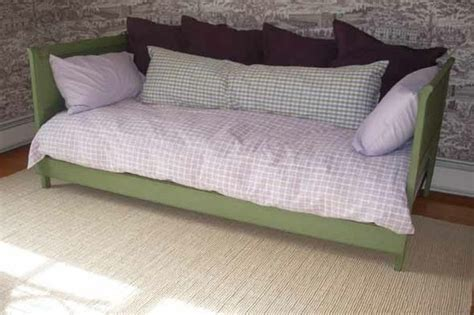 make twin headboard diy warrior make a daybed out of twin headboards by