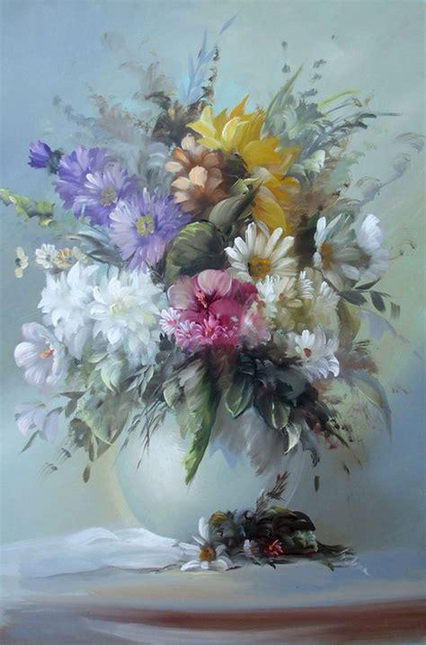 easy oil painting flowers httplometscom