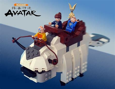 Lego Avatar Concept by Avatar The Last Airbender Lego Kit Dreamtoys