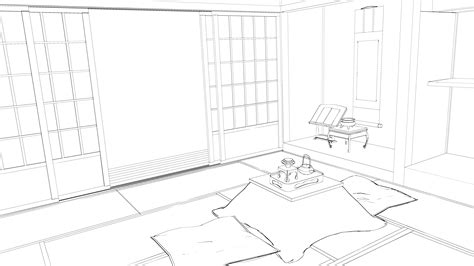 draw a room stock japanese room 2 by kaoyux on deviantart