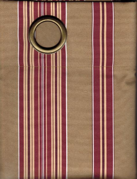 insulated drapes clearance insulated grommet panel hometown stripe clearance