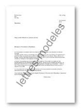 Modèle et exemple de lettres type : Plainte officielle