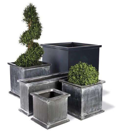 Planter Fiberglass Resin Grosvenor Trough Trough Planters
