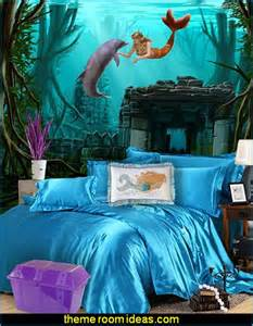ariel the mermaid room decor mermaid bedroom decor mermaid bedding mermaid wall