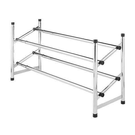 shop style selections 8 pair chrome with black tiers metal