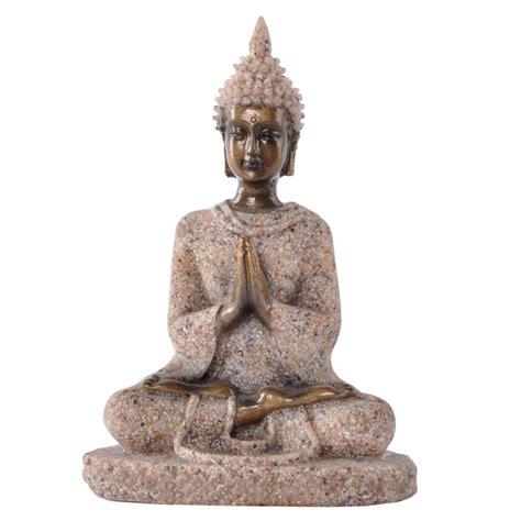 Handmade Statues - the hue sandstone meditation buddha statue sculpture