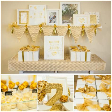 gold birthday themes sparkle and shine golden birthday party with really cute