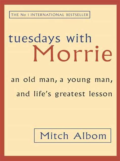 Tuedays With Morrie Tuesdays With Morrie Rendezvous With As It Is