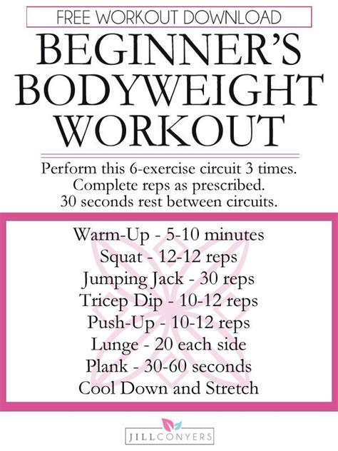 beginners workout plan for women at home 252 best images about beginner fitness on pinterest