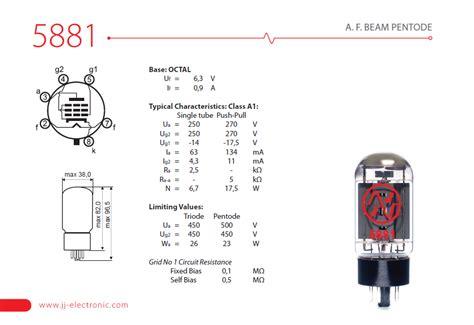 jj capacitor datasheet jj electronic 5881
