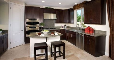 solid wood ready to assemble kitchen cabinets simple and contemporary shaker java cabinets are solid