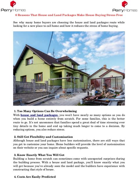 buying house and land packages 6 reasons that house and land packages make house buying stress free