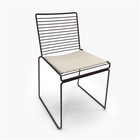 Hay Hee Dining Chair 3d Model Hee Dining Chair