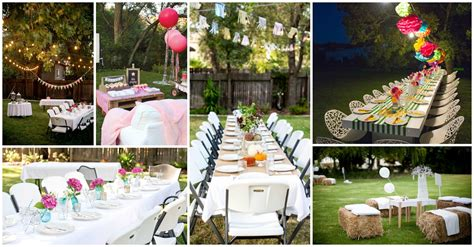 backyard birthday party backyard party decorations for unforgettable moments