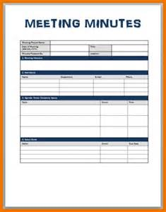 Meeting Minutes Template Microsoft Word by Doc 589761 Templates Of Minutes Meeting Minutes
