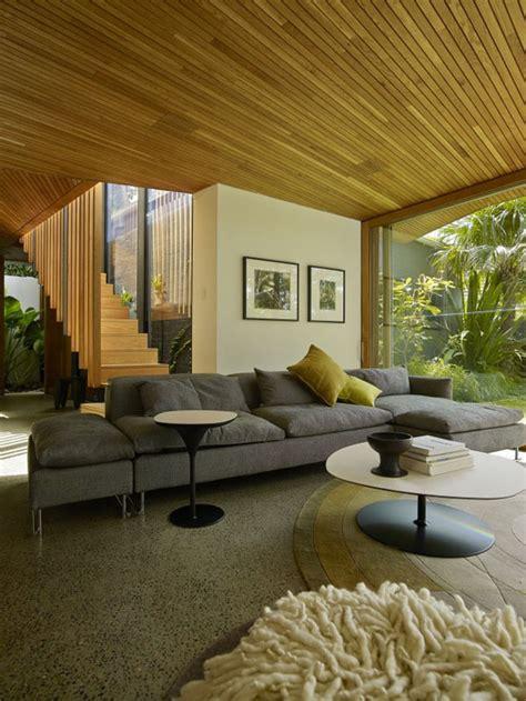 the living room sydney the balmain house in sydney australia modern architecture by fox johnston