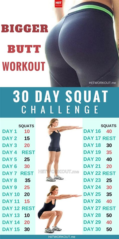 30 day squat challenge for 30 day squat challenge hiit workout