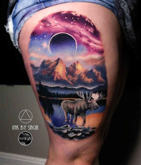 tattoo artist saga anderson ink by saga canada