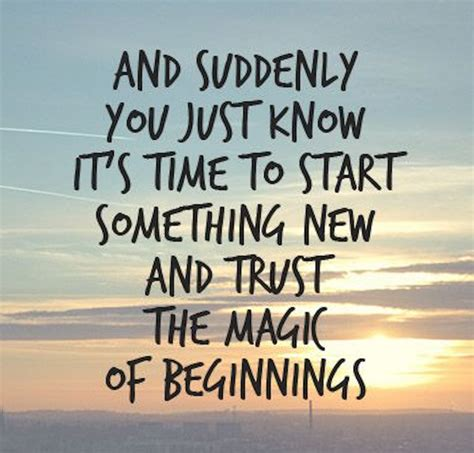 Best Quotes On New Beginnings new beginnings quotes