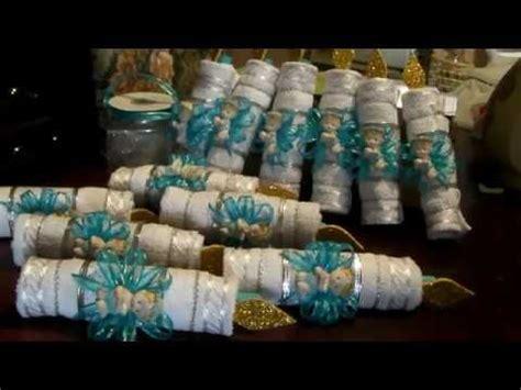 velas hechas con toallas faciales para recuerdos de bautizo o primera comunion m 225 s de 25 ideas incre 237 bles sobre recuerdos con toallas en de banda ms