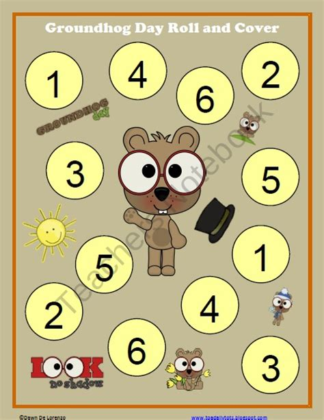 groundhog day number of days 17 best images about groundhog preschool stuff on
