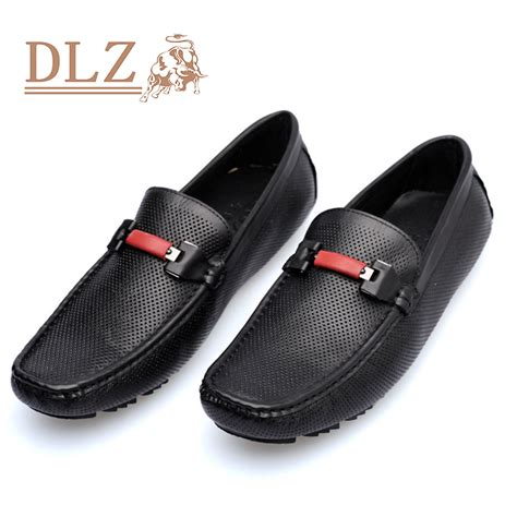 luxury mens loafers luxury mens loafers genuine leather slip on black white