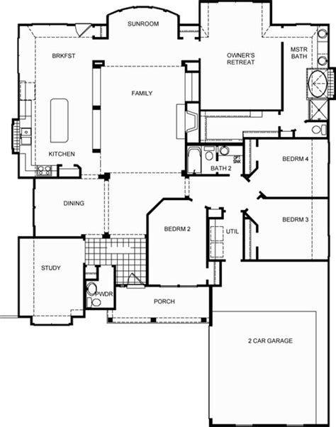 David Weekly Floor Plans by Campbell Floor Plan By David Weekley Homes House