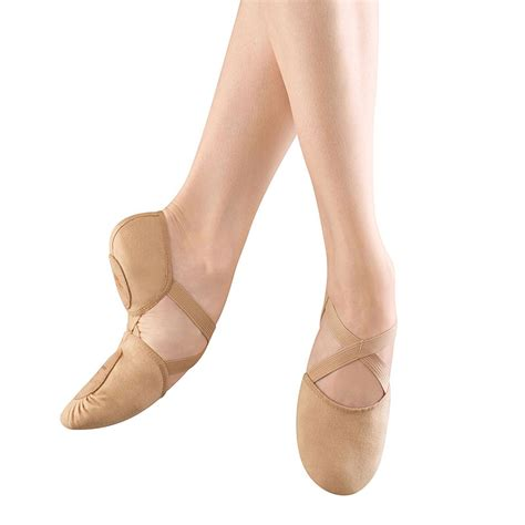 canvas ballet slippers bloch elastosplit x canvas ballet slippers flesh