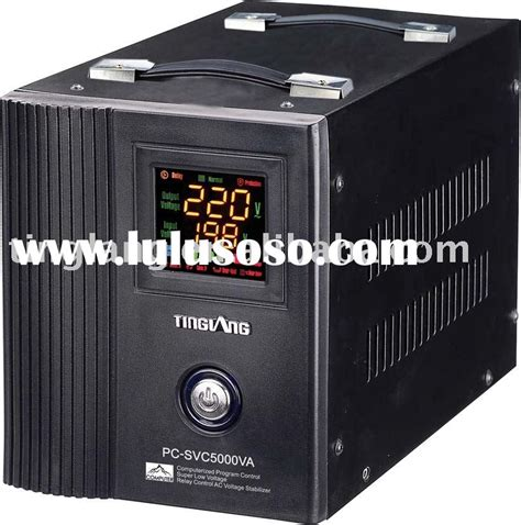 Ac Automatic Voltage Regulator automatic voltage stabilizer circuit